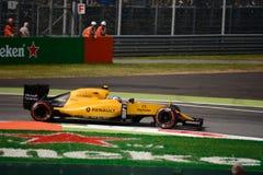 Формула 1 Renault на Монце управляемой Jolyon Palmer Стоковое фото RF