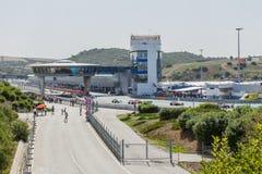 3 5 формула renault 5 серий 2014 - старт гонки Стоковое Изображение RF
