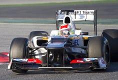 Формула-1 - Sauber Стоковая Фотография