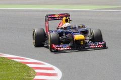 Формула 1 - Sebastian Vettel Стоковые Фото