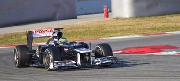 Формула-1 - Williams Стоковое фото RF