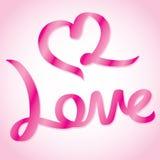 Формулировки влюбленности Стоковые Изображения