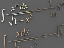 формулы математически Стоковые Изображения RF