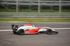 0 2 формул renault 0 испытаний автомобиля на Монце Стоковые Фотографии RF