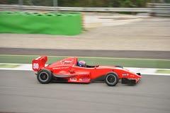 0 2 формул renault 0 испытаний автомобиля на Монце Стоковые Фото
