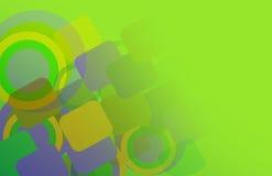 формы абстрактной предпосылки геометрические Стоковая Фотография RF