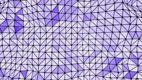 Формы абстрактной предпосылки триангулярные иллюстрация штока