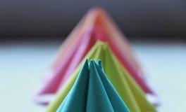 Формы бумаги Origami стоковое изображение rf