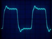 формы волны дисплея Стоковое Изображение RF