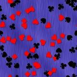 Формы карточек с безшовной произведенной предпосылкой текстуры Стоковая Фотография