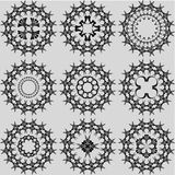 формы конспекта установленные Стоковое Изображение RF