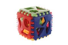 Формы логически кубика различные геометрические Стоковое Изображение