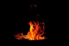 Формы огня Стоковые Изображения RF