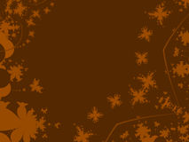 формы падения цветов Стоковая Фотография RF