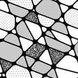 формы предпосылки геометрические безшовные Стоковое Изображение