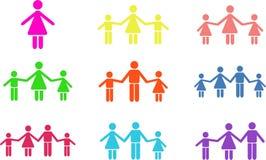 формы семьи бесплатная иллюстрация
