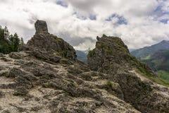 Формы утеса Nosal Горы Tatra Польша Стоковые Фотографии RF