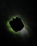 формы элементов абстрактных предпосылок черные Стоковые Изображения RF