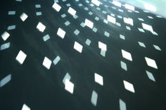 формы glitterball светлые Стоковое Изображение RF