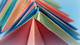 Формы Origami стоковое изображение