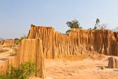 Формы Stranges размывания почвы Стоковые Изображения RF