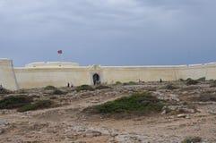 Форталеза Sagres в Sagres, Португалии стоковое фото