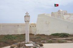 Форталеза Sagres в Sagres, Португалии Стоковые Изображения