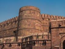 Форт Агры, Агра, Уттар-Прадеш, Индия Стоковое Фото