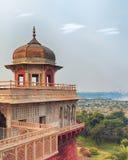 Форт Агры красный, Индия, Уттар-Прадеш Стоковые Фотографии RF