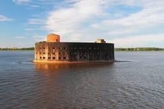 Форт Александр i (чума), Kronstadt st petersburg России Стоковая Фотография