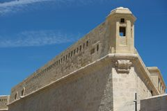 Форт Валлетты, Мальты, St Elmo Стоковое фото RF
