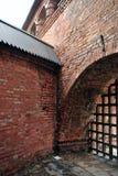 форт внутри старой Стоковая Фотография