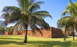 Форт в Мапуту, Мозамбик Стоковая Фотография