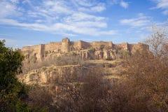 Форт Ranthambhore. стоковая фотография