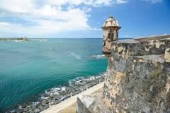 Форт в Пуэрто-Рико Стоковая Фотография