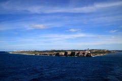 Форт Гавана Куба Morro Стоковое Изображение RF