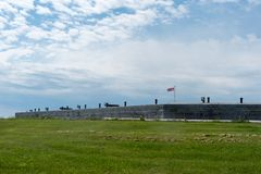 Форт Генри, Кингстон, Онтарио стоковое фото rf