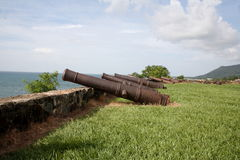форт Гондурас trujillo Стоковое фото RF