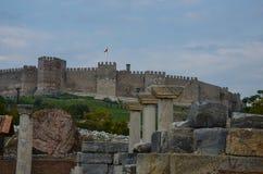 Форт крестоносцев, Ephesus Стоковая Фотография