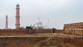 Форт Лахора в Пакистане стоковые фотографии rf