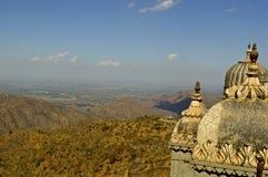 Форт на Kumbhalgarh Стоковая Фотография