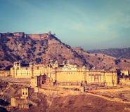 Форт Amer (Амбера), Раджастхан, Индия стоковая фотография