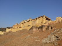 Форт Amer, Amer, Джайпур стоковое изображение