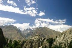 Форт Baltit, Hunza, Пакистан Стоковая Фотография RF