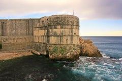 Форт Bokar, Дубровник стоковые изображения
