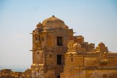 Форт Chittorgarh, Раджастхан, Индия Стоковое фото RF