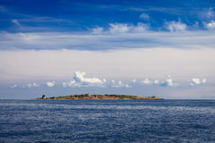 Форт Christiansoe Борнхольм Дания Скандинавия стоковое изображение rf