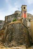 форт corfu старый Стоковые Фотографии RF