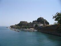 форт corfu Стоковые Изображения