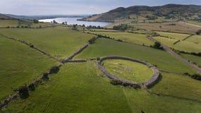 Форт Drumena каменный Castlewellan графство вниз Северная Ирландия стоковая фотография